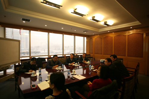 北京市海淀区委组织部领导到海淀创业园调研