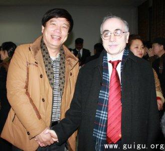 中巴建交62周年大型书画展在北京举行