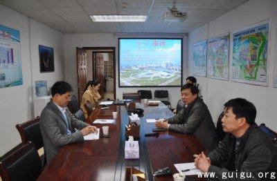 北京中关村海外科技园到淮南高新区投资考察