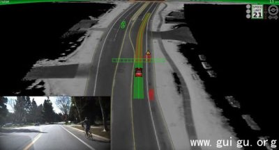 谷歌自动驾驶汽车重大进展 可实时识别上百物体