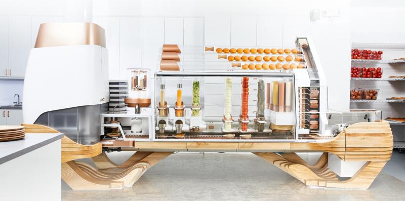 美国硅谷无人餐厅怎么玩?Creator推成套机器人