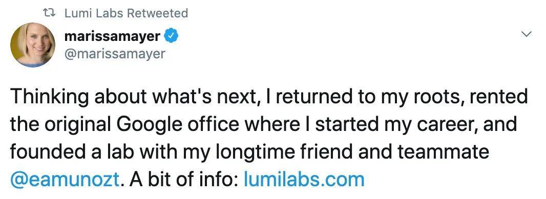 美国硅谷传奇女性离开雅虎后用 AI 链接小而美
