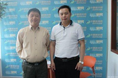 网开科技刘召伟:崛起中的新锐力量(图)