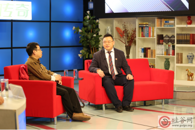 中纪控股董事局主席纪海先生做客央视《商界传奇》
