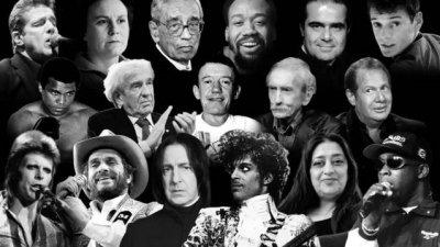 百余名人辞世,刚过去的2016是被诅咒的一年吗?