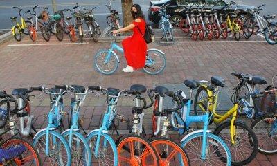 疯狂的共享单车 战火烧到二三线城市难赚钱!