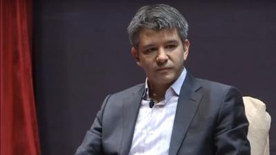 Uber员工大会上 Uber CEO数次飙泪向员工致歉