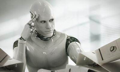 """英国打算用机器人取代""""办证大厅""""的公务员"""