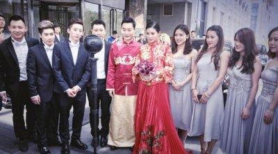 婚拍产业新升级 全球首场VR明星婚礼在西安举办