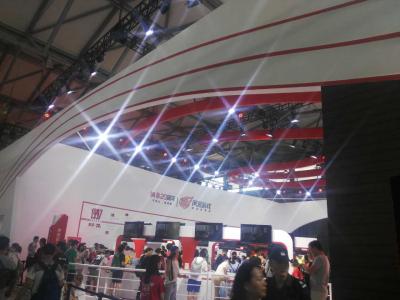 ChinaJoy 2017首日,大游戏厂商展台仍最具看点
