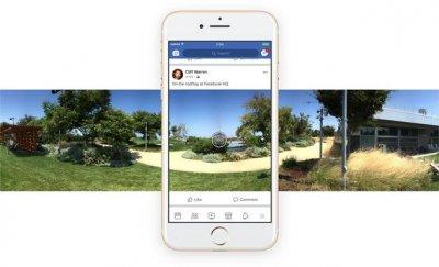 Facebook使用人工智能帮助用户调整360度照片