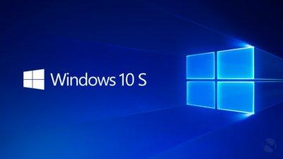 Windows10 S免费升级截止时间延长至明年3月底