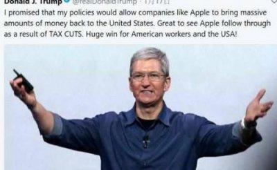 """苹果真的""""要跑了""""?巨资回流美国意味着什么"""