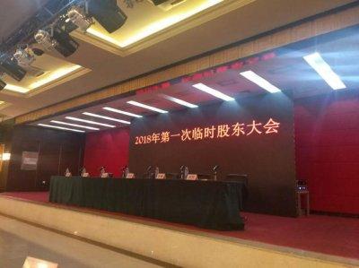 乐视网股东大会:主席台仅6人 孙宏斌未出席