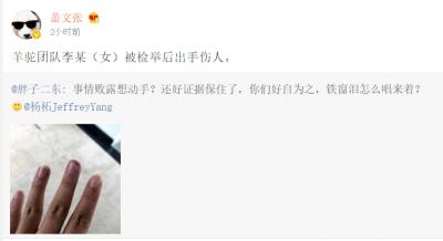 杨柘回应魅族内讧:团队成员出手伤人为造谣