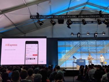 发力移动前沿技术 谷歌I/O大会点赞阿里速卖通秒开