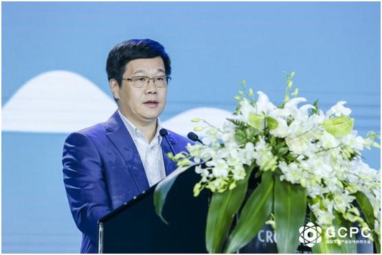 北京市文投集团党委书记、董事长周茂非致辞