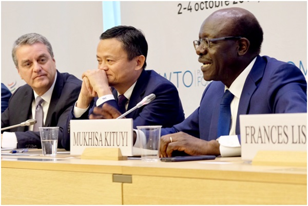 变革、普惠和合作 马云的全球化建议刷屏WTO