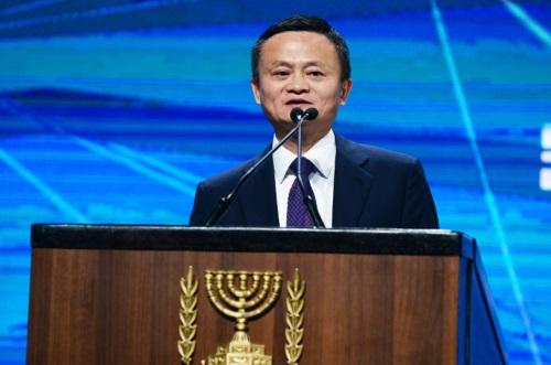 马云在以色列谈创新 总理即兴上台要跟他一起疯狂