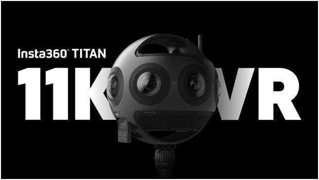11K超高清 VR摄影机Insta360 Titan开启全球预售
