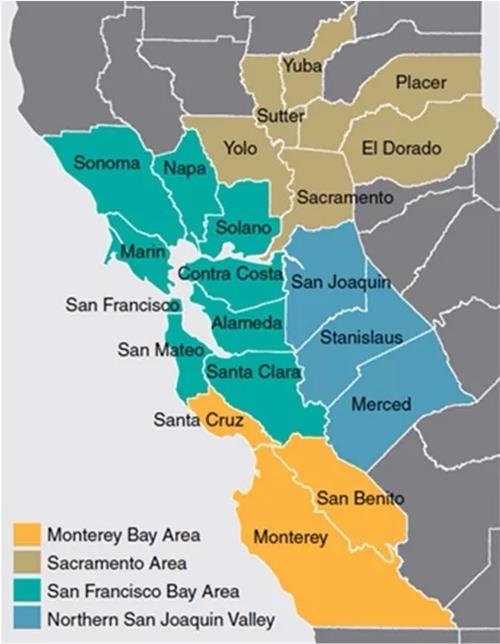 美国硅谷旧金山大湾区爆炸性增长诅咒带来的启示