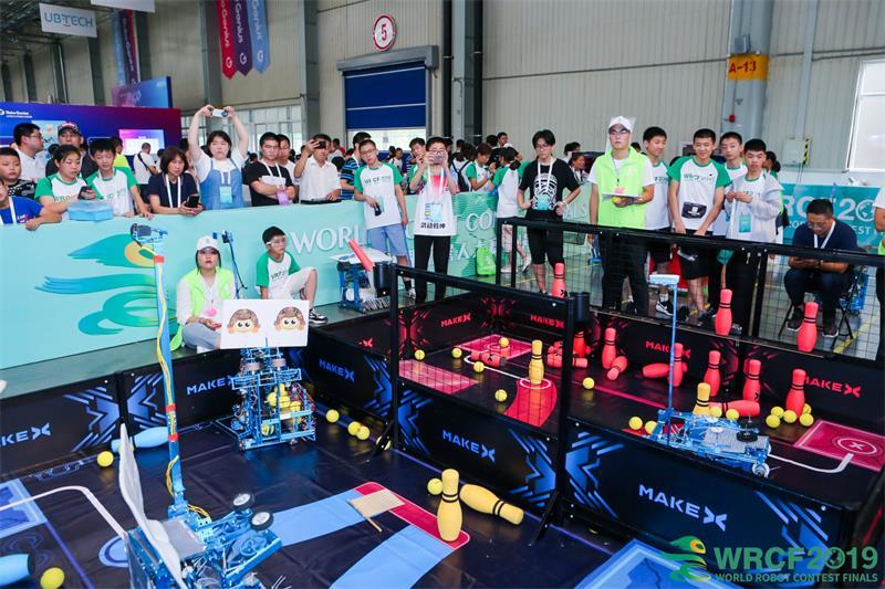 2019青少年机器人设计大赛举行 智能新星决战保定