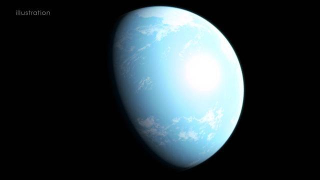 NASA发现超级地球 下一步要探测它是否有生命存在
