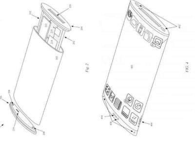 苹果环绕屏专利:苹果新专利曝光 同样是环绕屏?