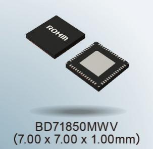 ROHM开发出适用恩智浦i.MX 8M Nano系列处理器电源管理IC