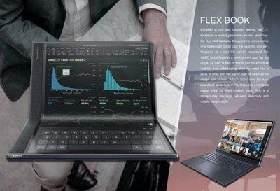 ODM仁宝电脑开发出可折叠的混合平板笔记本原型