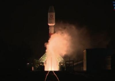 俄罗斯发射联盟号成功送OneWeb 34颗卫星上天