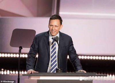 美国硅谷亿万富豪Peter Thiel拒绝为特朗普连任捐款