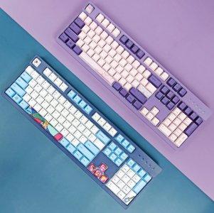 雷神超高颜值键盘评测 CHERRY轴×IP定制打造外设新时尚