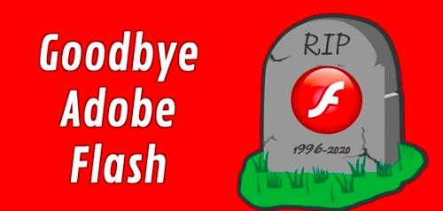 Adobe将于2020年12月31日正式终止更新Flash Player