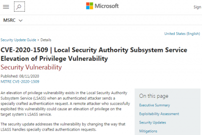 微软发布KB4566782累积更新提升Win10 20H2内部编译版本号