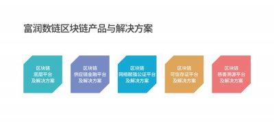 富润数链区块链产品及解决方案发布 助力数字化转型