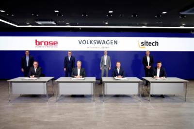 博泽与大众汽车签署合资协议 将设立合资企业