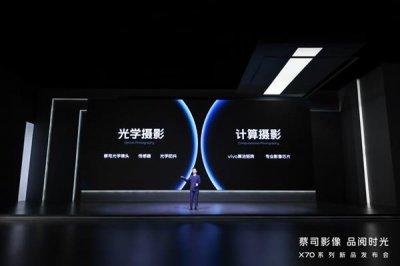 蔡司影像 品阅时光 vivo X70系列发布开启手机摄影新赛道