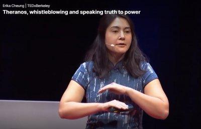 Erika Cheung:硅谷Theranos的滴血成金创业骗局